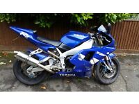 1999 Yamaha YZF-R1 Long MOT Full Service History Immaculate Condition