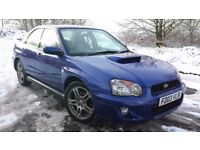 SUBARU IMPREZA 4WD WRX AWD 2.0 TURBO 4x4 UK 300, ONLY 73K MILES, FSH, MOT JUNE, FINE CAR £3250