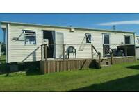 Caravan to let Cornwall Harlyn Sands