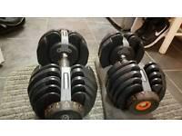 Adjustable Dumbbells pair 5kg-52.5kg