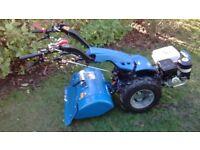 2015 BCS 738 Two wheeled tractor 10.7hp honda / rotovator