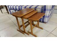 Set Of Vintage Teak Nest Tables