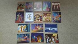HUNKYDORY 16 x CHRISTMAS RELIGIOUS CARD TOPPERS