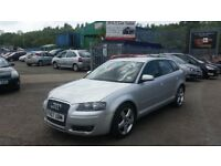 2007 (07 reg) Audi A3 1.9 TDI Sport Sportback 5dr Hatchback FOR SALE £1,595 SOLD WITH 12 MONTHS MOT