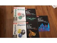 Gcse Biology Chemistry and Physics revision books