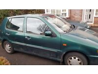 VW Polo 1.4cl 5dr 47000 on clock Spares or Repair
