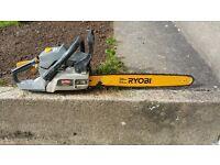 """20"""" Ryobi chainsaw"""