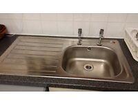 Stainless Steel Kitchen Sink £5