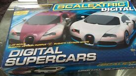SCALEXTRIC DIGITAL BUGATTI VEYRON
