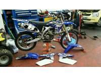 Yzf250 2011 model £1850