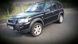 Black full leather interior, diesel land rover 2005