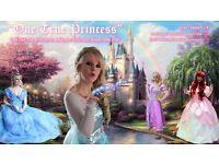 One True Princess Party Entertainer Princess Appearances as Cinderella Ariel Rapunzel Elsa Anna Olaf