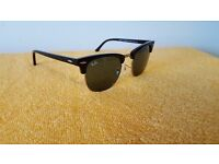 Sunglasses for sale Ray ban Clubmaster Black and old Rim New