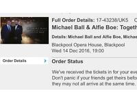 Michael Ball and Alfie Boe in Blackpool!