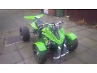 Road Legal Quad bike, Spy Viper 250 F1, with MOT, Logbook