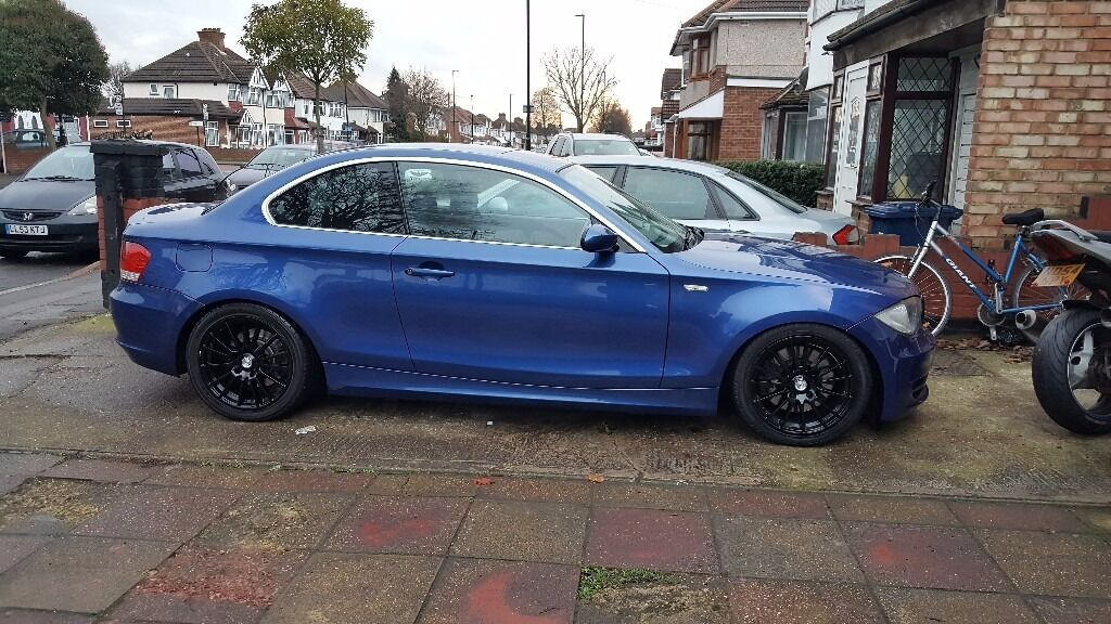 bmw 1 series 123d low mileage 252bhp coilovers alloys. Black Bedroom Furniture Sets. Home Design Ideas