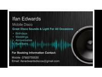 Mobile Disco - Great Sound and Light for All Occasisons
