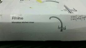 kitchen mixer monobloc-rhine
