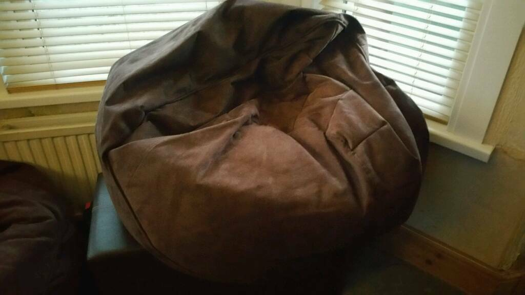 2 x Large Beanbag chair