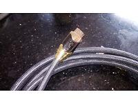 high quality black ibra 3 metre hdmi cable