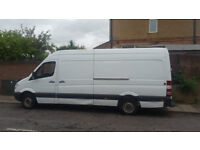 MAN WITH VAN, HOUSE MOVE, REMOVAL SERVICES, VAN HIRE