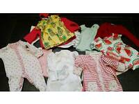 Newborn baby girls Clothes Mainly Next items