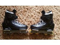 Salomon ST Oryginal aggressive inline skates.Size UK 5,5