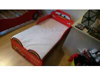 Lightning McQueen children's bed