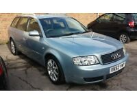 Audi A6 2.5tdi automatic estate, high miles hence price