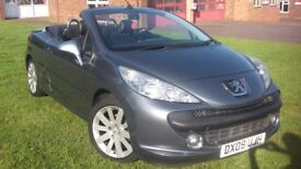 Peugeot 207cc Elle. Convertible with Leather Seats.