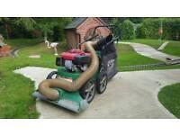 Billy Goat heavy duty garden vacuum