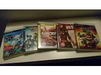 PS3 GAMES bundle. 5 games.