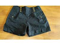 Womans navy high waisted shorts size 12