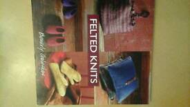 Felted knits book by Beverly Galeskas.