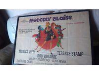 Modesty Blaize framed movie poster.