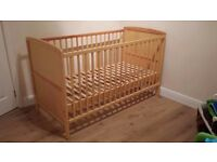 Cot Bed for Sale - £40 - OPEN TO OFFERS