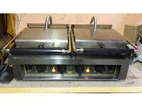 Double grill Panini machine