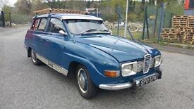 very rare 1974 saab 95 v4 seven seater estate