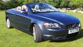 Volvo C70 SE D5 - luxury 'wind in your hair' tin roof convertible.