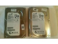 Seagate barracuda 500gb x2