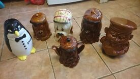 SIX 1950/60S B&K POTTERY EXCELENT CONDITION
