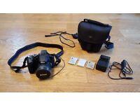 Nikon COOLPIX P530 16.1MP Digital Bridge Camera + 3 Batteries & Lowepro Case