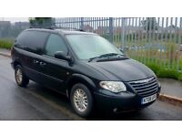 CHRYSLER VOYAGER 2.8 CRD LX PLUS. 7 SEATER. FULL LEATHER. ONLY 65,000 MILES ~ STUNNING CONDITION !