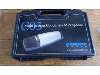 Samson C03 multi pattern microphone