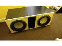 Car subwoofers and amplifier
