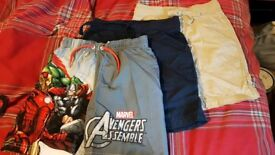 3 pairs of shorts age 4 excellent condition