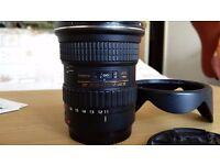 Tokina 11-16 mm AT-X Pro F2.8 - Canon mount