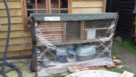 Hutch for Guinea pigs/small rabbits
