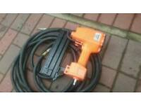 Nail gun air nailer with 15 metre air hose