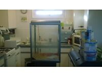 large fish tank for sale ...........................................................................